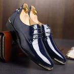 ショッピングラバーシューズ ビジネスシューズ エナメル靴 紳士 結婚式 リーガル革靴 防水 本革 ローファー メンズエナメル靴 エナメル 靴 メンズ 革靴