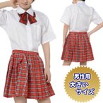 Yahoo!サンキ インターネット販売店コスプレ スクールメイト 制服セット AKB48 女子高生 大きいサイズ 男性用 【ゆうパケット不可】 サンキ/sanki