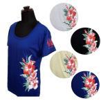 Tシャツ 半袖 フラダンス ハワイアン 用品 婦人 レデ