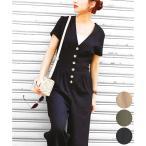 オールインワン ジャンプスーツ レーヨン 麻 リネン コットン 夏 大きいサイズ つなぎ レディース ファッション ワイドパンツ かわいい 韓国