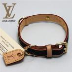 [LOUIS VUITTON]ルイ・ヴィトン ドッグ・カラー 犬用首輪 (モノグラム)-ドッグ用品-