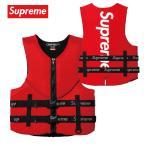 Supreme 2018年春夏 O'Brien Life Vest ライフジャケット ベスト レッド