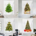 即納 クリスマスツリー セール100円オフ 場所を取らない 大判150×100cm 壁掛け タペストリー 12種類 クリスマスの準備はお早めに 代引不可