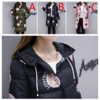 軽量レディースロングコート ジャケット ロング丈 フード付き アウター 中綿 防寒 女 通勤
