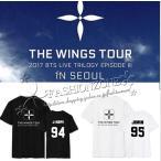 2017送料無料◆新品◆BTS(防弾少年団)   WINGS TOUR  Tシャツ 半袖  応援服 春夏Tシャツ  韓流グッズ