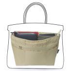 バッグインバッグ インナーバッグ ハンドバッグ 軽量 自立 大容量 収納 バッグ レディース メンズ