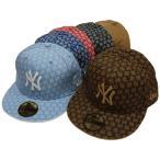 NEW ERA【ニューエラ】Team Print NYヤンキース モノグラム総柄 NEW YORK YANKEES ニューヨーク ヤンキース HIPHOP CAP