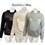 ZARA姉妹ブランド 公式 ディズニーコラボパーカー Bershka Disney スタッズTシャツ