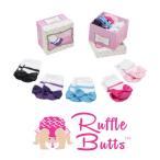ラッフルバッツ ソックス ギフトセット Rufflebutts Princess Socks Gift Box  靴下 くつ下 新生児 赤ちゃん 出産祝い