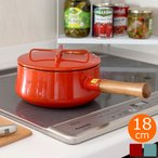 DANSK ダンスク 片手鍋 ソースパン 18cm コベンスタイル 鍋 ホーロー鍋 IH対応 ビストロ 北欧 キッチン