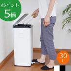 [割引クーポン配布中] Galva ガルバ スクエアダストボックス 30L 蓋付き ゴミ箱 ペダル式 インナーBOX付き Square Dust Box