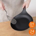 南部鉄器 フライパン オムレット 24cm 岩鋳 IWACHU イワチュウ IH対応 日本製 24601