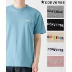 コンバース(CONVERSE) ワンポイント刺しゅう半袖Tシャツ メンズ M/L/LL 綿素材のカジュアル感溢れる1枚! トップス Tシャツ ニッセン