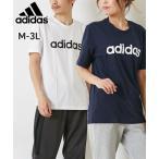 アディダス M ESS LIN SJ Tシャツ(男女兼用) 29192 メンズ レディス M-4XO(6L相当) 大きいサイズメンズ ニッセン adidas