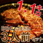 bbq 業務用 家庭用 バーベキュー セット 焼肉 焼き肉 3人前 bbq 業務用 家庭用