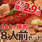 ショッピングバーベキュー BBQ バーベキュー セット 焼肉 焼き肉 8〜10人前 bbq