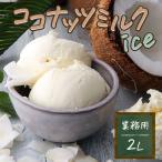 アイスクリーム 業務用 2リットルココナッツアイス