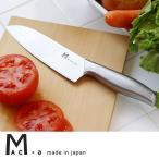 mac+a ステンレス三徳包丁(マック包丁 ギフト オールステンレス一体型 菜切り)
