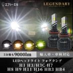 fcl LEDヘッドライト ファン付 led H11 H8 H16 HB4 HB3 HIR2 フォグランプ ハイビーム fcl. エフシーエル