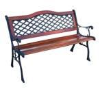 カーブクロスベンチ 13016 ジャービス商事[F-630] 【送料無料】 ガーデンテーブル ガーデンチェア ガーデンファニチャー