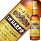 ウイスキー IWハーパー ゴールドメダル 40度 正規 箱なし 700ml バーボン 洋酒 whisky