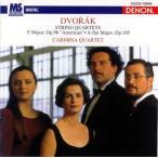 ドヴォルザーク:弦楽四重奏曲第12番&第14番 カルミナ四重奏団 CD