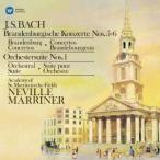 バッハ:ブランデンブルク協奏曲第5番、第6番 他 マリナー CD