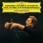 ムソルグスキー:組曲「展覧会の絵」(ラヴェル編) ラヴェル:組曲「マ・メール・ロワ」、スペイン狂詩曲 ジュリーニ SHM-CD