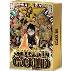 ONE PIECE FILM GOLD GOLDEN LIMITED EDITION(初回限定盤) ワンピース 特典DVD付Blu-ray