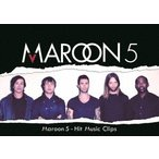 マルーン5-HIT MUSIC CLIPS マルーン5 DVD