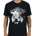 スパローズ Sparrows メンズ トップス Tシャツ Wolf Black