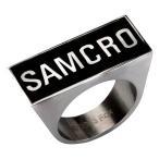 サンズ オブ アナーキー ボディーヴァイブ Body Vibe Sons of Anarchy SAMCRO Logo Ring