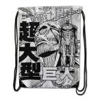 進撃の巨人 グレートイースタンエンターテインメント Great Eastern Entertainment Attack on Titan Colossal Titan Drawstring Bag