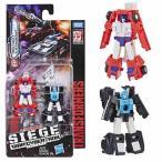 トランスフォーマー Transformers 可動式フィギュア Generations War for Cybertron: Siege Micromaster WFC-S19 Red Heat and Stakeout