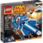 スターウォーズ Star Wars レゴ LEGO おもちゃ The Clone Wars Anakin's Custom Jedi Starfighter Exclusive Set #75087
