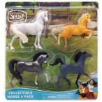 スピリットライディングフリー Spirit Riding Free フィギュア 4点セット Collectible Horse Figure 4-Pack [Version 2]
