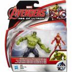 アイアンマン Iron Man ハズブロ Hasbro Toys フィギュア おもちゃ Marvel Avengers Age of Ultron Savage Hulk & Ultron Hunter 2.5-Inch