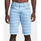 トゥルー レリジョン True Religion メンズ ショートパンツ ボトムス・パンツ Ikat-Print Ricky Flap Shorts Blue Mojave