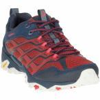 ショッピング登山 メレル メンズ シューズ・靴 ハイキング・登山 Merrell MOAB FST Shoe Navy / Dark Red