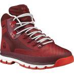 ショッピング登山 ティンバーランド メンズ シューズ・靴 ハイキング・登山 Euro Hiker Jacquard Boot Medium Red Jacquard