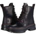 ティンバーランド Timberland レディース ブーツ シューズ・靴 Malynn EK+ Waterproof Mid Lace Boot Black Full Grain