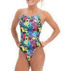 ドルフィン Dolfin レディース ワンピース 水着・ビーチウェア Uglies Print V-2 Back One Piece Swimsuit Candy Mountain
