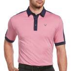 キャロウェイ Callaway メンズ ゴルフ 大きいサイズ ポロシャツ トップス Birdseye Golf Polo - Big and Tall Boudoir Red