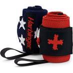 ハービンジャー Harbinger ユニセックス フィットネス・トレーニング サポーター Red Line Wrist Wraps Flag