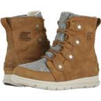 ソレル SOREL レディース ブーツ シューズ・靴 Explorer Joan Camel Brown