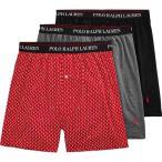 ラルフ ローレン Polo Ralph Lauren メンズ ボクサーパンツ 3点セット Classic Fit w/ Wicking 3-Pack Knit Boxers