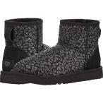アグ UGG レディース シューズ・靴 Classic Mini Snow Leopard Black