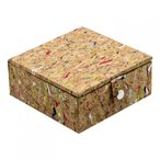 ルンドロンドン Lund London レディース 雑貨 収納ボックス Cork Cufflink Storage Box Multi Cork