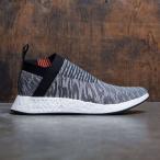 アディダス Adidas メンズ スニーカー シューズ・靴 NMD CS2 Primeknit black/core black/future harvest