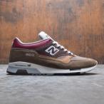 ニューバランス New Balance メンズ スニーカー シューズ・靴 M1500 M1500GBG - Made In UK brown / burgundy